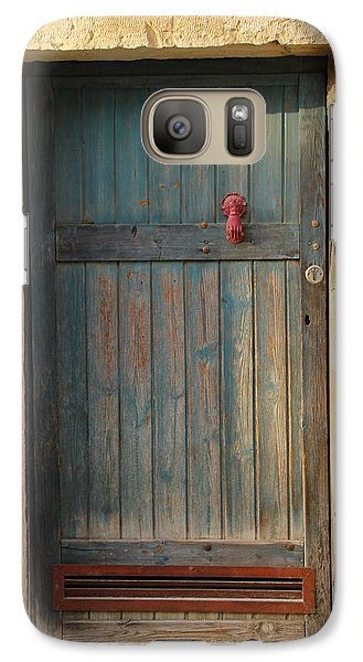 Galaxy Case featuring the photograph The Door And The Hand by Yoel Koskas