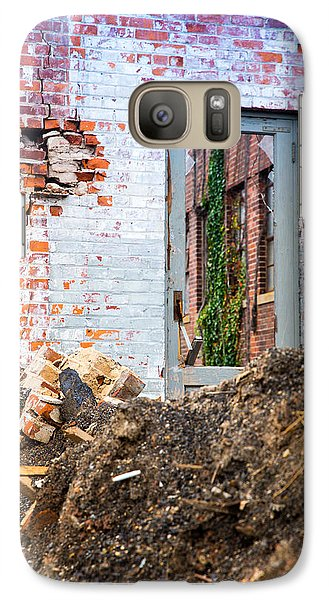 Galaxy Case featuring the photograph The Door Is Always Open by Lora Lee Chapman