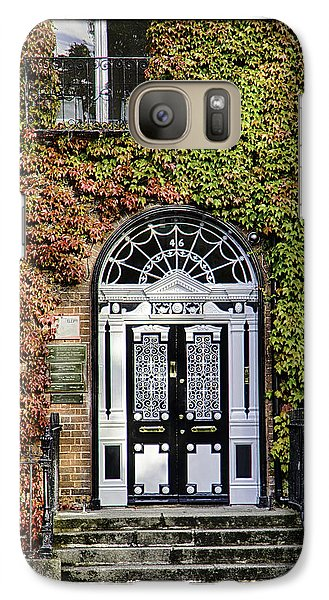 Galaxy Case featuring the photograph The Door by R Thomas Berner