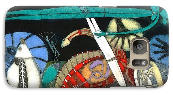 Kangaroo Galaxy S7 Case - The Dream Of The Fish by Annael Anelia Pavlova
