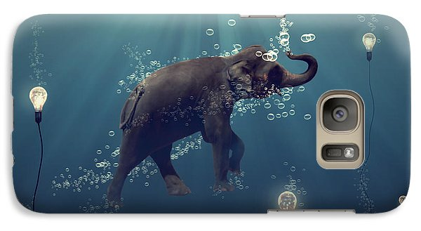 Galaxy S7 Case - The Dreamer by Martine Roch