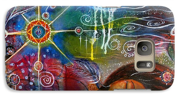 Galaxy Case featuring the painting The Dreamer by Prerna Poojara