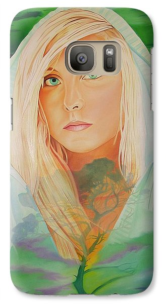 Galaxy Case featuring the painting The Dreaming Tree by Joshua Morton