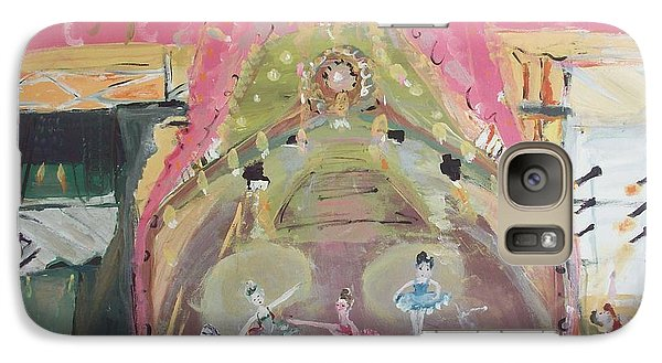 Galaxy Case featuring the painting The Dress Rehearsel by Judith Desrosiers