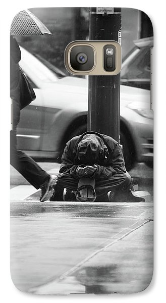 Galaxy Case featuring the photograph The Dry People by Empty Wall