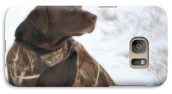 Galaxy Case featuring the photograph The Duck Dog Iv by Donna Greene