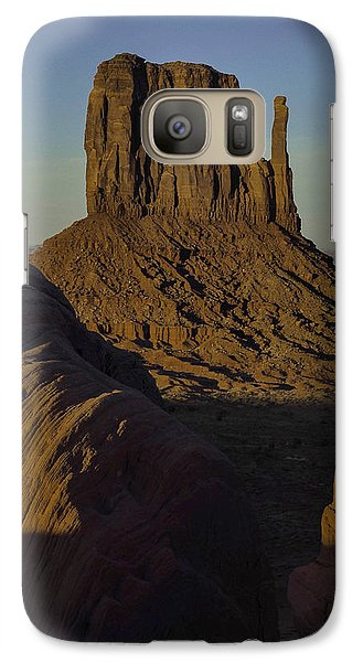Galaxy Case featuring the photograph The Earth Says Hello by Rob Wilson