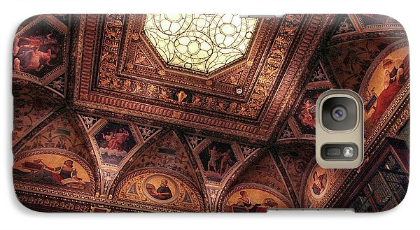 Galaxy Case featuring the photograph The East Room Ceiling by Jessica Jenney