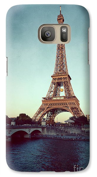 Galaxy Case featuring the photograph The Eifeltower by Hannes Cmarits