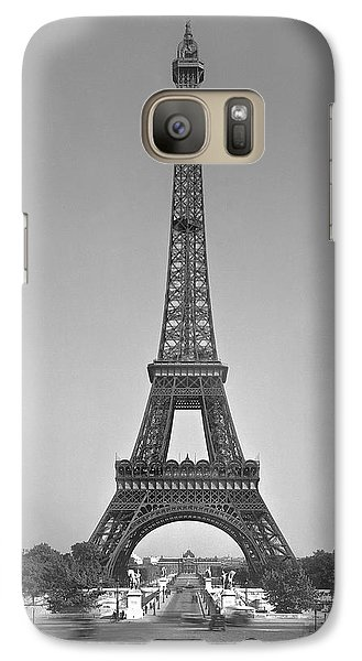 The Eiffel Tower Galaxy S7 Case by Gustave Eiffel