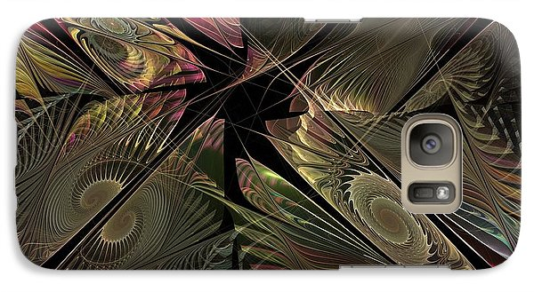 Galaxy Case featuring the digital art The Elementals - Calling The Corners by NirvanaBlues
