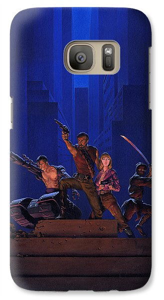 The Eliminators Galaxy S7 Case by Richard Hescox