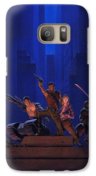 Knight Galaxy S7 Case - The Eliminators by Richard Hescox