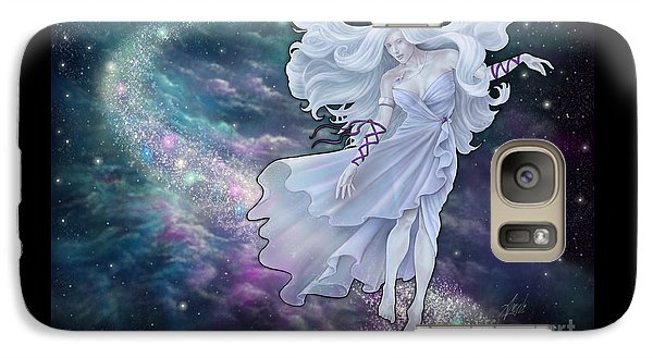 Galaxy Case featuring the digital art The Emancipation Of Galatea by Amyla Silverflame