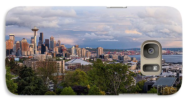 Galaxy Case featuring the photograph The Emerald City  by Anthony Citro