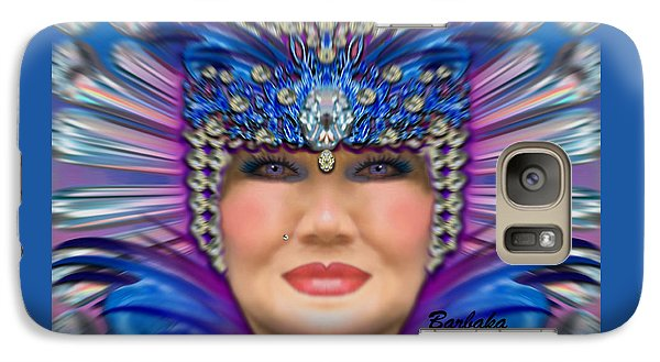 Galaxy Case featuring the photograph The Empress by Barbara Tristan