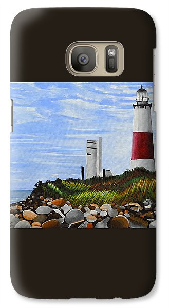 Galaxy Case featuring the painting The End by Donna Blossom