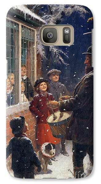 Drum Galaxy S7 Case - The Entertainer  by Percy Tarrant