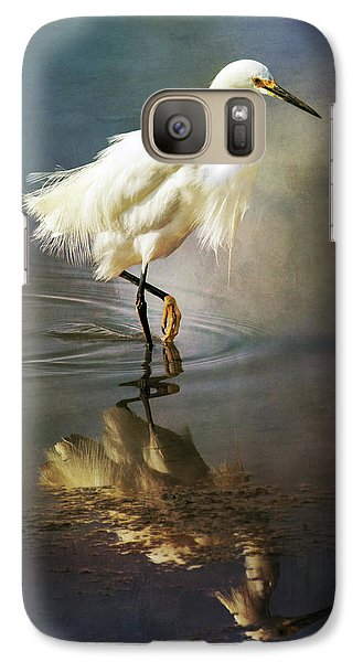 The Ethereal Egret Galaxy S7 Case