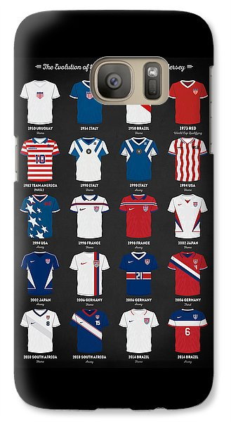 The Evolution Of The Us World Cup Soccer Jersey Galaxy S7 Case