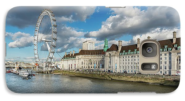 London Eye Galaxy S7 Case - The Eye London by Adrian Evans