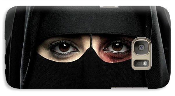 Galaxy Case featuring the photograph The Face Of Saudi by Pg Reproductions