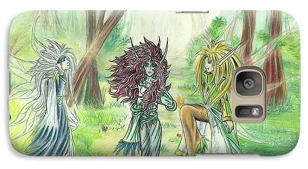 The Fae - Sylvan Creatures Of The Forest Galaxy S7 Case