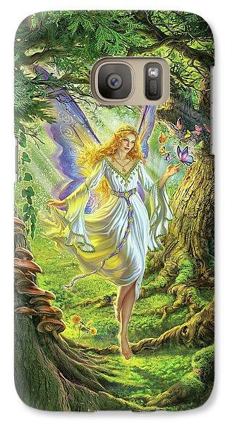 Fairy Galaxy S7 Case - The Fairy Queen by Mark Fredrickson