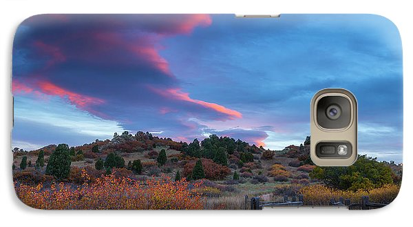 Galaxy Case featuring the photograph The Fall Meadow by Tim Reaves