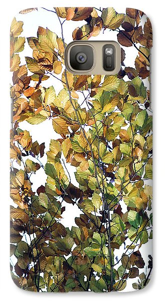 Galaxy Case featuring the photograph The Fall by Rebecca Harman