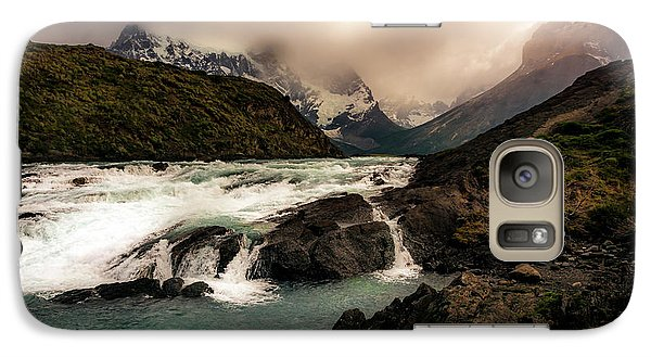 Galaxy Case featuring the photograph The Falls by Andrew Matwijec