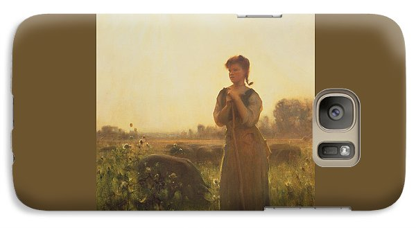 The Farm Girl Galaxy S7 Case by Arthur Hacker