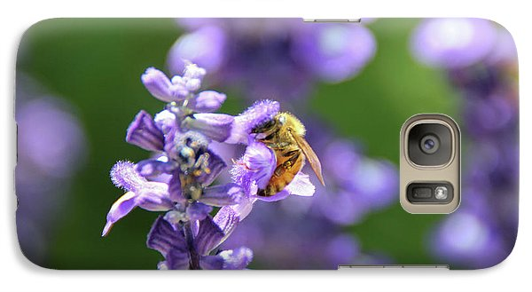 Galaxy Case featuring the photograph The Fauna And Flora Rendez-vous by Yoel Koskas