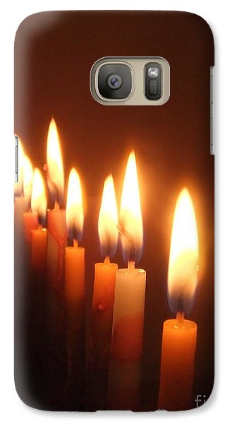 Galaxy Case featuring the photograph The Festival Of Lights by Annemeet Hasidi- van der Leij
