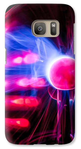 Galaxy Case featuring the photograph The Field Is Real by TC Morgan