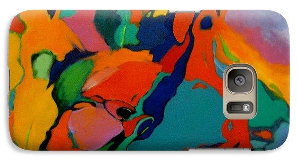Galaxy Case featuring the painting The Firebird by Bernard Goodman