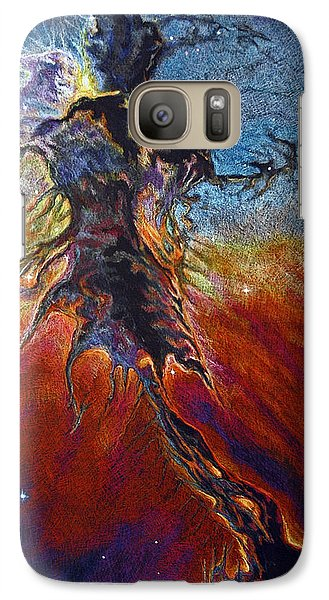 Galaxy Case featuring the drawing The Firmament by Suzanne McKee