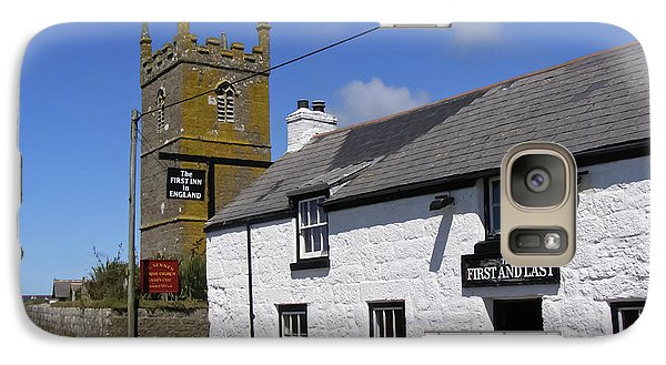 Galaxy Case featuring the photograph The First And Last Inn In England by Terri Waters