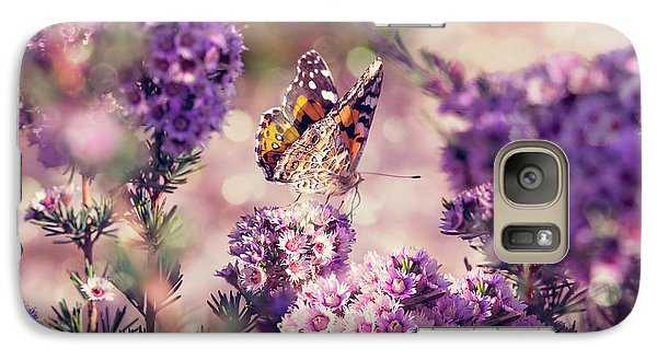 Galaxy Case featuring the photograph The First Day Of Summer by Linda Lees