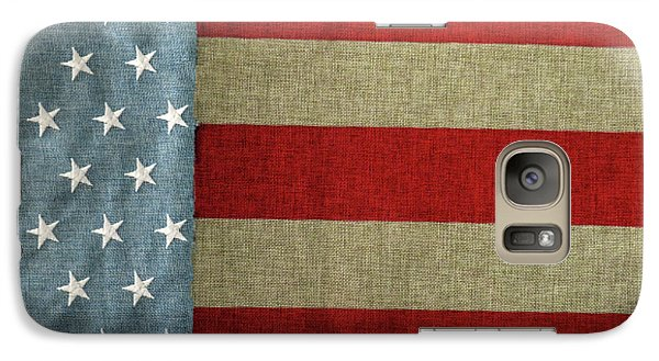 Galaxy Case featuring the photograph The Flag by Tom Prendergast