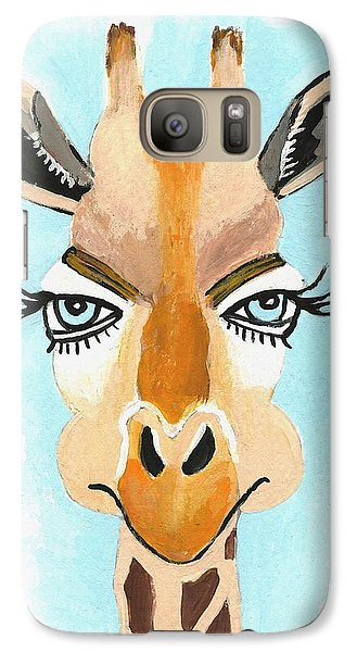 Galaxy Case featuring the painting The Flirt by Kathleen Sartoris
