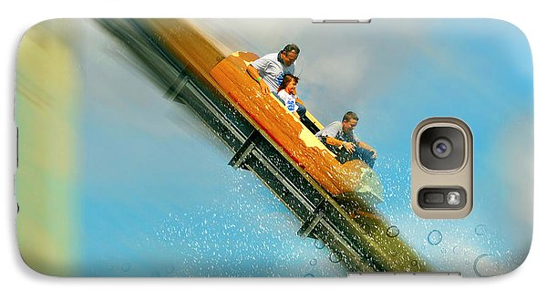 Galaxy Case featuring the photograph The Flume by Diana Angstadt