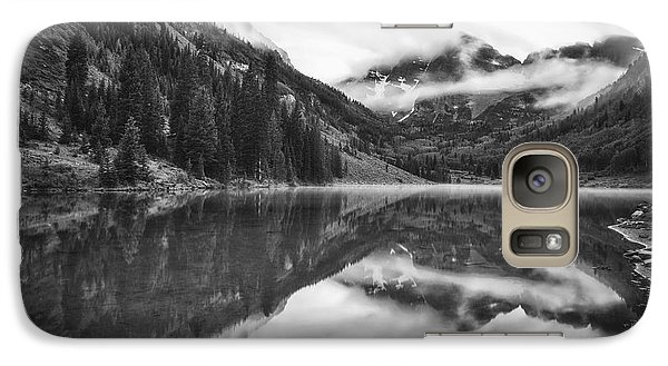 Galaxy Case featuring the photograph The Foggy Bells by Photography  By Sai