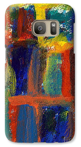 Galaxy Case featuring the painting The Foursome by Jan Daniels
