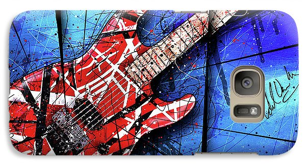 The Frankenstrat Vii Cropped Galaxy S7 Case
