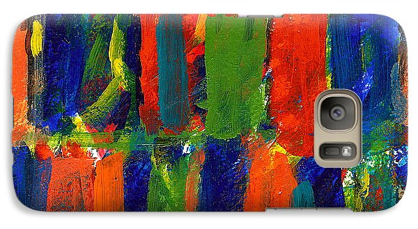 Galaxy Case featuring the painting The Gallery by Jan Daniels