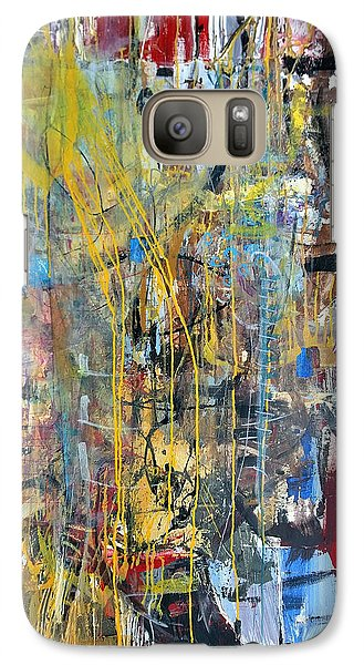 The Gamble Or Deconstructed Fish Galaxy S7 Case