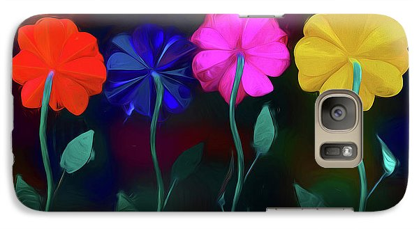 Galaxy Case featuring the photograph The Garden by Paul Wear