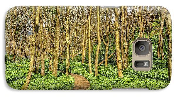 Galaxy Case featuring the photograph The Garlic Forest by Roy McPeak
