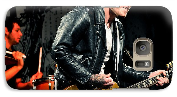 Galaxy Case featuring the photograph The Gaslight Anthem by Jeff Ross
